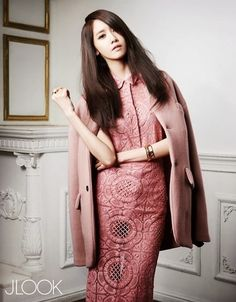 Yoona SNSD Girls' Generation - J Look Magazine March Issue 2014