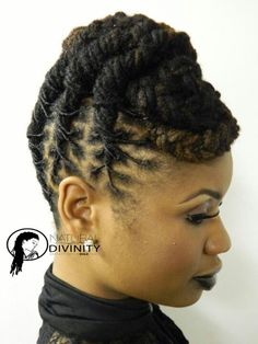 Groovy Locs On Pinterest Hairstyles For Women Draintrainus