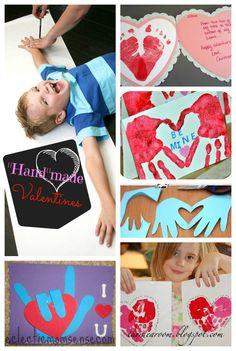 Handmade Valentines Ideas via @Kelly Teske Goldsworthy {Eclectic Momsense} - eclecticmomsense.com