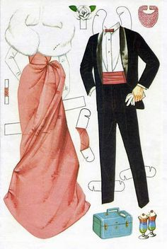 Paper Dolls~Barbie and Ken - Bonnie Jones - Picasa Albums Web
