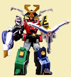 Samurai Megazord - Power Rangers Samurai | Power Rangers Central