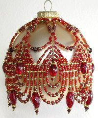Obraz znaleziony dla: Free Beaded Victorian Ornaments Patterns