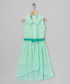 Mint Sheer Dress & Camisole