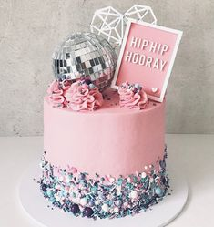 ' Time to put on your dancing shoes and enjoy a slice of this disco cake by in Perth! Wishing you a sweet and happy weekend! Disco Theme Parties, Disco Party Decorations, 70s Party, Kids Disco Party, Party Time, Party Party, Roller Skating Party, Skate Party, Soccer Party
