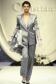 Linda Evangelista - Christian Dior, Spring-Summer 1992, Couture