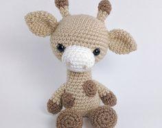 Amigurumi Schemi Italiano Gratis : Baby giraffe instant download crochet pattern toy giraffe amigurumi