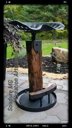 tractor seat barstool