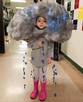 DIY Thunderstorm Costume for Kids - 2016 Halloween Costume Contest