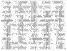 Hard Colors By Numbers Printable Mazes  + Medium Difficulty and Easy Mazes