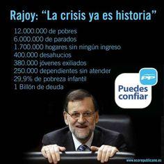 Rajoy va a Grecia a explicar como se consigue la estabilidad Alexis Tsipras se esta 'descojonando' #RajoyPodemosM4