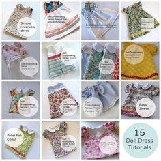 Doll Dressmaking Series: 15 Dresses — Phoebe&Egg