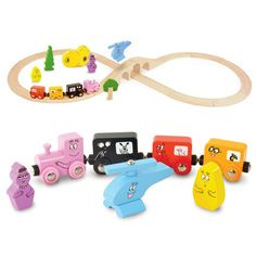 Barbapapa Train Set $68. Elias 2nd birthday - Barbapapa theme