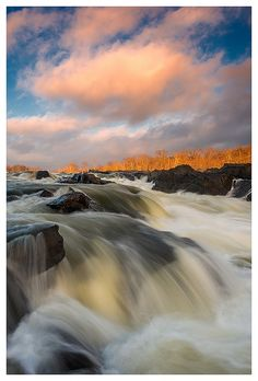 After the Storm, Great Falls National Park, VA, just outside Washington, DC.  Photo: Joseph Rossbach via Flickr. I loved on the town of Great Falls for 18 years.