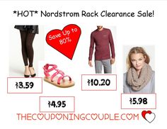 Save an additional 25% Off Nordstrom Rack clearance! Save up to 80% off or more! Starting at around $3.00! Apparel, Shoes, Baby and more! Leggings for $3.59! Tommy Bahama Shorts for $10.00!  Click the link below to get all of the details ► http://www.thecouponingcouple.com/nordstrom-rack-save-up-to-80-starting-as-low-as-3-00/  #Coupons #Couponing #CouponCommunity  Visit us at http://www.thecouponingcouple.com for more great posts!