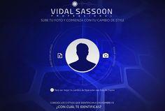 El simulador de barbas de Vidal Sassoon