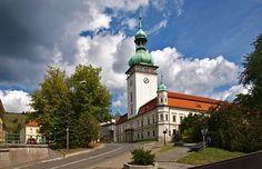 Visit Vsetin, Moravia, Czech Republic Manor Houses, Palaces, Czech Republic, San Francisco Ferry, Castles, Building, Travel, Viajes, Palace