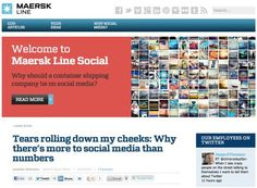 Maersk Line with success in social media | Jonathan Wichmann