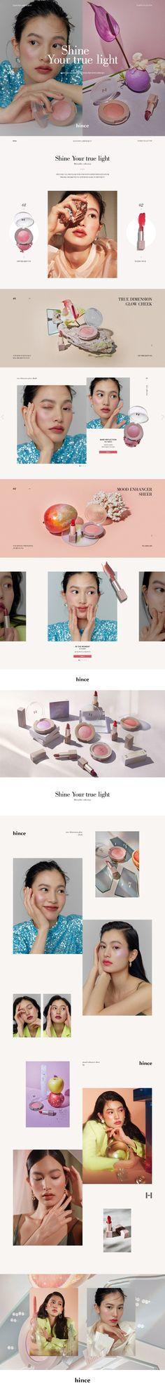 Website Design Layout, Blog Layout, Layout Design, Beauty Web, Lookbook Design, Web Design Examples, Cosmetic Design, Promotional Design, Website Design Inspiration