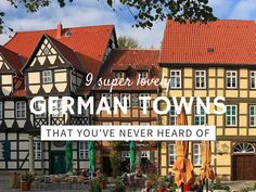 German towns to check off your bucket list
