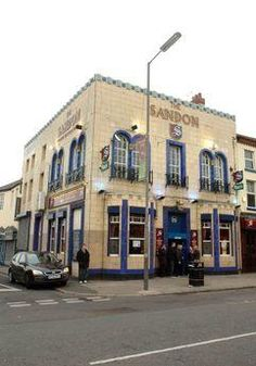 The Sandon public house, owned by John Houldling whose rent row with Everton led to the Blues leaving and the formation of Liverpool FC