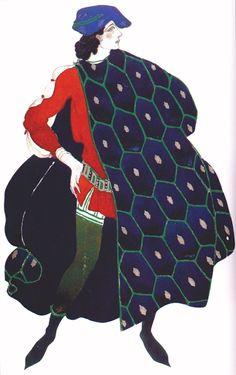 В роли святого Себастьяна, 1911. Рисунок Л. Бакста (1915), был подарен им Дягилеву, но потом Дягилев, рассорившись с Идой, вернул его обратно. Еще у Леона Бакста: Его эскизы костюмов: как Клеопатра как Елена Троянская Cвятой Себастьян Федра Иштар (за работой над этим балетом Бакст и умер) Жак Эмиль…