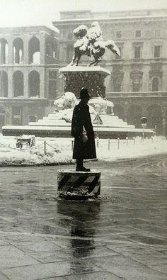 P.zza Duomo_1954 | da Milàn l'era inscì