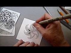 Fangle Tangle Pattern Lesson# 53 - YouTube