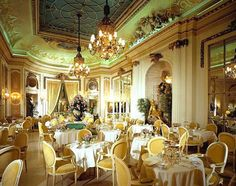 Afternoon Tea at the Ritz Palm Court, London, England***I can't believe I actually drank 5 pots of tea