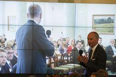 Pawel Ornatek during presidential debate, 18.09.2014 Photo by: Wojciech Olkuśnik Fotograf Prezydenta RP Biuro Prasowe Kancelaria Prezydenta Rzeczypospolitej Polskiej