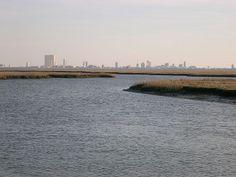 Atlantic City Skyline, Absecon Creek, NJ