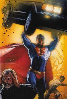 Superman by Drew Struzan