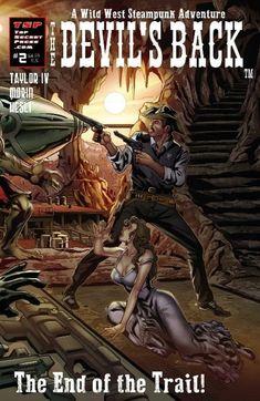 The Devil's Back 2 Regular Cover | Etsy Horror Comics, Horror Art, Crossed Comics, Avatar Press, Scarred For Life, Apocalypse Art, Comic Books Art, Wild West, Science Fiction