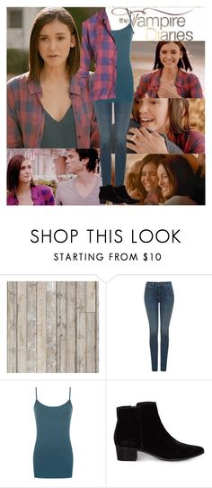 """""""TVD~Elena Gilbert~8x16~I Was Feeling Epic"""" by tvshowobsessed ❤ liked on Polyvore featuring Piet Hein Eek, NYDJ and WearAll"""