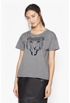 French Connection Royal Leopard T-Shirt