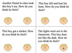 Let's Talk Speech-Language Pathology: Understanding Emotions Freebie