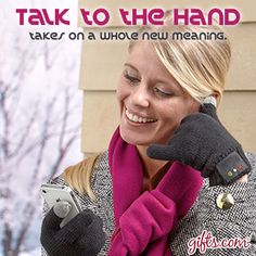 Bluetooth telephone gloves and more gadgets and gizmos to make mom\'s life a little easier on the blog! blog.gifts.com/...