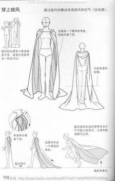 Cape cloak cloth reference