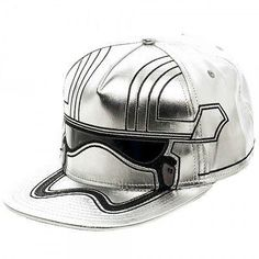 Star Wars Last Jedi Captain Phasma Helmet Snapback