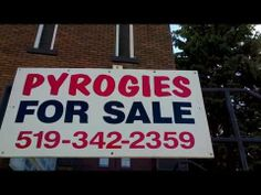Pierogies For Sale! Food Videos, Youtube, Youtubers, Youtube Movies