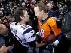Peyton Manning got the best of Tom Brady on Sunday for the third time in the AFC title game. (AP)