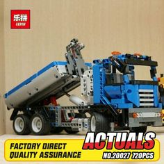 47.80$  Buy here - http://aliv4b.shopchina.info/1/go.php?t=32813713798 - Lepin 20027 720Pcs Technic Mechnical Series The Container Truck Set Children Educational Building Blocks Bricks Toys Model 8052 47.80$ #shopstyle
