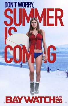 Alexandra Daddario is coming.
