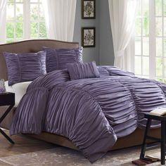 The Plum Purple Duvet Comforter is to die for! Love https://www.jossandmain.com/Guest-Room-Refresh-Delancey-Comforter-Set-in-Plum~AIWE1201~E2989.html?refid=HSOJM1.type294=664253=HardPin=Pinterest=type294
