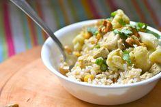 Cauliflower Chickpea Cashew Curry // Warm Vanilla Sugar
