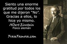 Frases de Albert Einstein - Frases de Gratitud - Frase Famosa