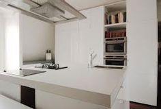 beton cire keuken - Licht blad