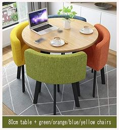 Kitchen Table Chairs, Kitchen Table Makeover, Wooden Dining Tables, Dining Table Design, Room Chairs, Living Room Lounge, Living Room Kitchen, Dining Room, Hotel Kitchen