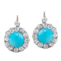 Shop diamond and pearl drop earrings and other vintage and antique earrings from the world's best jewelry dealers. Victorian Jewelry, Antique Jewelry, Vintage Jewelry, Jewelry Accessories, Jewelry Design, Royal Jewels, Turquoise Earrings, Beautiful Earrings, Jewlery