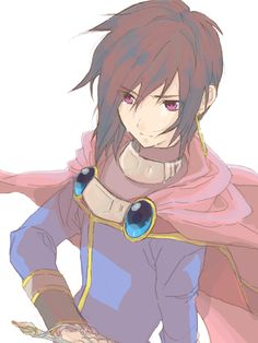 Leon Magnus - Tales of Destiny (he looks like Marth.)