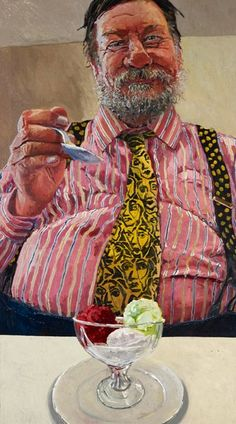 Lucy Culliton: Ray in Paris :: Archibald Prize 2011 :: Art Gallery NSW